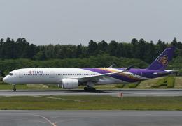 チャーリーマイクさんが、成田国際空港で撮影したタイ国際航空 A350-941の航空フォト(飛行機 写真・画像)