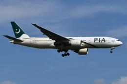 Deepさんが、成田国際空港で撮影したパキスタン国際航空 777-240/ERの航空フォト(飛行機 写真・画像)
