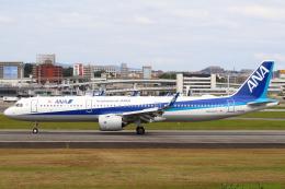 セブンさんが、伊丹空港で撮影した全日空 A321-272Nの航空フォト(飛行機 写真・画像)
