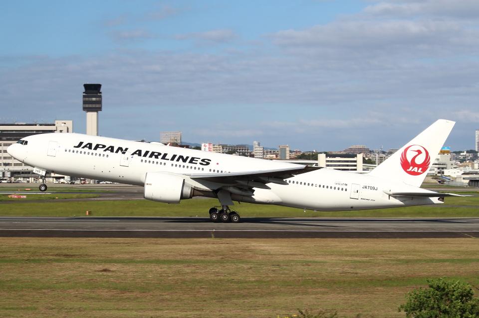 セブンさんの日本航空 Boeing 777-200 (JA709J) 航空フォト