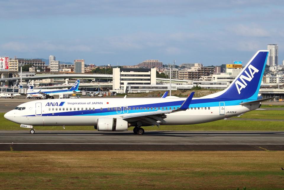 セブンさんの全日空 Boeing 737-800 (JA60AN) 航空フォト
