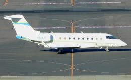 チャレンジャーさんが、羽田空港で撮影したPrivate owner Gulfstream G280の航空フォト(飛行機 写真・画像)