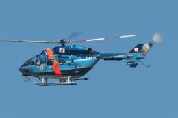 木人さんが、成田国際空港で撮影した千葉県警察 BK117C-1の航空フォト(飛行機 写真・画像)