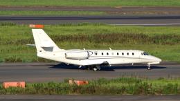 誘喜さんが、羽田空港で撮影したノエビア 680 Citation Sovereignの航空フォト(飛行機 写真・画像)
