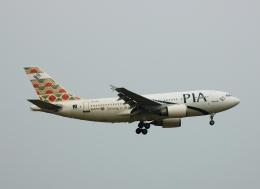 フリューゲルさんが、成田国際空港で撮影したパキスタン国際航空 A310-308の航空フォト(飛行機 写真・画像)