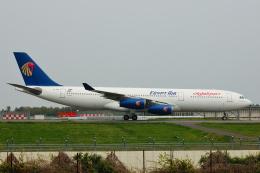フリューゲルさんが、成田国際空港で撮影したエジプト航空 A340-212の航空フォト(飛行機 写真・画像)