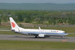 Deepさんが、新千歳空港で撮影した中国国際航空 737-89Lの航空フォト(飛行機 写真・画像)