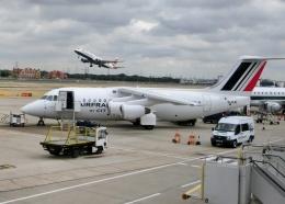 TA27さんが、ロンドン・シティ空港で撮影したシティジェット Avro 146-RJ85の航空フォト(飛行機 写真・画像)