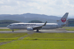 pringlesさんが、熊本空港で撮影した日本航空 737-846の航空フォト(飛行機 写真・画像)