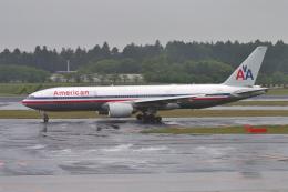 senyoさんが、成田国際空港で撮影したアメリカン航空 777-223/ERの航空フォト(飛行機 写真・画像)