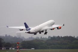 senyoさんが、成田国際空港で撮影したスカンジナビア航空 A340-313Xの航空フォト(飛行機 写真・画像)