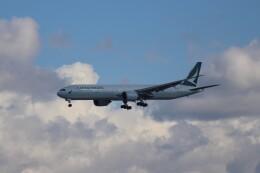 Love NRTさんが、成田国際空港で撮影したキャセイパシフィック航空 777-367/ERの航空フォト(飛行機 写真・画像)