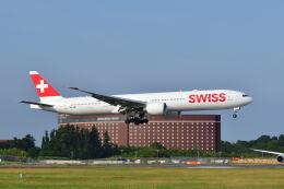 ポン太さんが、成田国際空港で撮影したスイスインターナショナルエアラインズ 777-3DE/ERの航空フォト(飛行機 写真・画像)