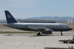 kinsanさんが、ツーソン国際空港で撮影したユナイテッド航空 A319-131の航空フォト(飛行機 写真・画像)