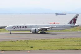 ゴンタさんが、中部国際空港で撮影したカタール航空 777-3DZ/ERの航空フォト(飛行機 写真・画像)