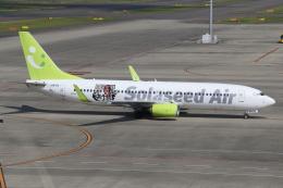ゴンタさんが、中部国際空港で撮影したソラシド エア 737-86Nの航空フォト(飛行機 写真・画像)