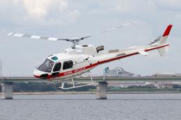 A.Tさんが、大阪ヘリポートで撮影した小川航空 AS350B3 Ecureuilの航空フォト(飛行機 写真・画像)