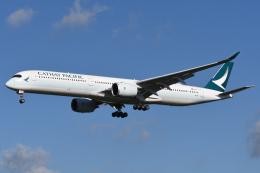sky77さんが、成田国際空港で撮影したキャセイパシフィック航空 A350-1041の航空フォト(飛行機 写真・画像)