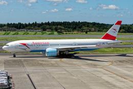 Cozy Gotoさんが、成田国際空港で撮影したオーストリア航空 777-2Z9/ERの航空フォト(飛行機 写真・画像)