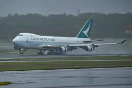 Souma2005さんが、成田国際空港で撮影したキャセイパシフィック航空 747-467F/ER/SCDの航空フォト(飛行機 写真・画像)