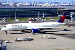 SFJ_capさんが、羽田空港で撮影したデルタ航空 A350-941の航空フォト(飛行機 写真・画像)