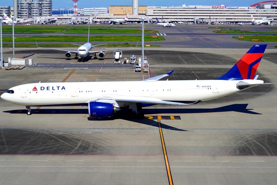 SFJ_capさんのデルタ航空 Airbus A330-900 (N404DX) 航空フォト