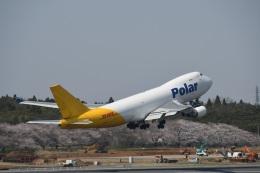エルさんが、成田国際空港で撮影したポーラーエアカーゴ 747-46NF/SCDの航空フォト(飛行機 写真・画像)