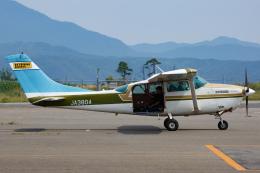 よっしぃさんが、但馬空港で撮影した第一航空 TU206G Turbo Stationair 6の航空フォト(飛行機 写真・画像)