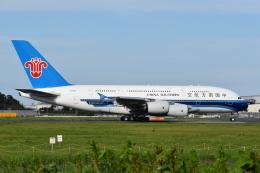 muneyan007さんが、成田国際空港で撮影した中国南方航空 A380-841の航空フォト(飛行機 写真・画像)