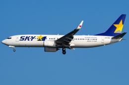 Tatsuya.Kさんが、羽田空港で撮影したスカイマーク 737-86Nの航空フォト(飛行機 写真・画像)