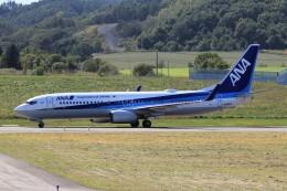 フッ軽の極美さんが、紋別空港で撮影した全日空 737-881の航空フォト(飛行機 写真・画像)