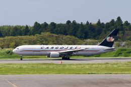 やまモンさんが、成田国際空港で撮影したカーゴジェット・エアウェイズ 767-35E/ER(BCF)の航空フォト(飛行機 写真・画像)