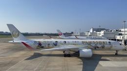 若鷹軍団さんが、福岡空港で撮影した日本航空 A350-941の航空フォト(飛行機 写真・画像)