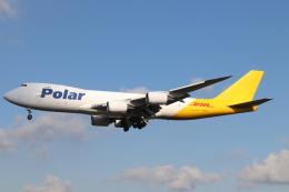 天王寺王子さんが、成田国際空港で撮影したポーラーエアカーゴ 747-87UF/SCDの航空フォト(飛行機 写真・画像)