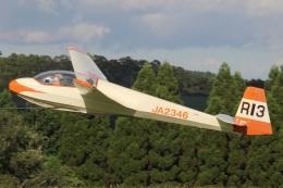 MOR1(新アカウント)さんが、久住滑空場で撮影した九州グライダースポーツ連盟 ASK 13の航空フォト(飛行機 写真・画像)