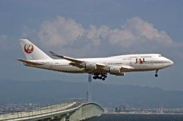 Gambardierさんが、関西国際空港で撮影した日本航空 747-446の航空フォト(飛行機 写真・画像)