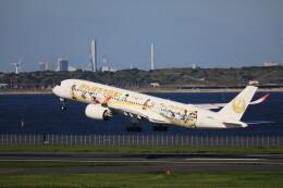 モモさんが、羽田空港で撮影した日本航空 A350-941の航空フォト(飛行機 写真・画像)