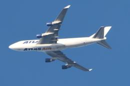 imosaさんが、横田基地で撮影したアトラス航空 747-412(BCF)の航空フォト(飛行機 写真・画像)