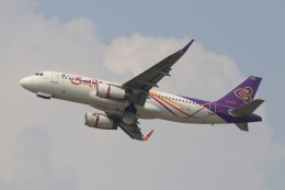 磐城さんが、スワンナプーム国際空港で撮影したタイ・スマイル A320-232の航空フォト(飛行機 写真・画像)