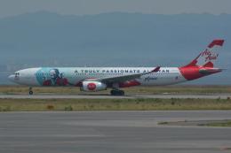 Deepさんが、関西国際空港で撮影したエアアジア・エックス A330-343Xの航空フォト(飛行機 写真・画像)