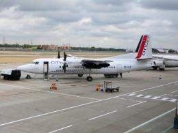 TA27さんが、ロンドン・シティ空港で撮影したVLMエアラインズ 50の航空フォト(飛行機 写真・画像)