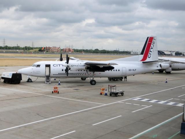 ロンドン・シティ空港 - London City Airport [LCY/EGLC]で撮影されたロンドン・シティ空港 - London City Airport [LCY/EGLC]の航空機写真(フォト・画像)