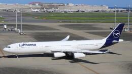 Rsaさんが、羽田空港で撮影したルフトハンザドイツ航空 A340-313Xの航空フォト(飛行機 写真・画像)