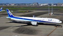 Rsaさんが、羽田空港で撮影した全日空 777-381/ERの航空フォト(飛行機 写真・画像)