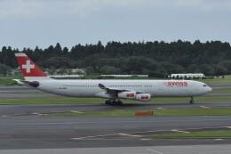 kumagorouさんが、成田国際空港で撮影したスイスインターナショナルエアラインズ A340-313Xの航空フォト(飛行機 写真・画像)