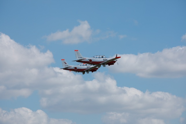まるせさんが、宇都宮飛行場で撮影した航空自衛隊 T-7の航空フォト(飛行機 写真・画像)