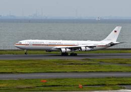 パール大山さんが、羽田空港で撮影したドイツ空軍 A340-313Xの航空フォト(飛行機 写真・画像)