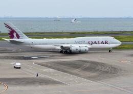 パール大山さんが、羽田空港で撮影したカタールアミリフライト 747-8KB BBJの航空フォト(飛行機 写真・画像)