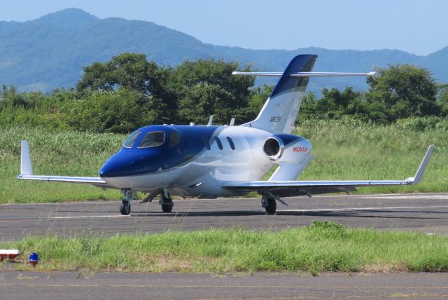 航空フォト:JA123P 日本法人所有 HA-420 HondaJet
