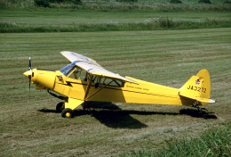 JAパイロットさんが、関宿滑空場で撮影した関宿滑空場 PA-18-135 Super Cubの航空フォト(飛行機 写真・画像)